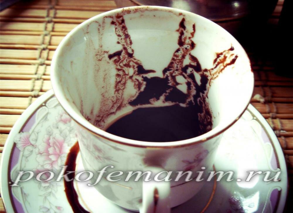 Значение латинских букв в кофейной гуще